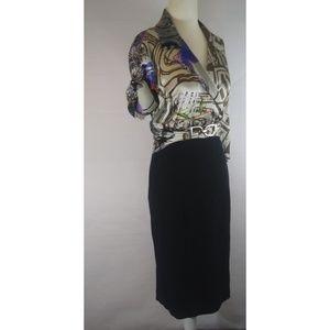 CACHE Contour Collection Silk Sensual Dress 8